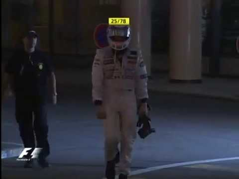 Monaco 2006 Epic Kimi Räikkönen - Going straight to his Yacht after Heat Shield Blow up! ?