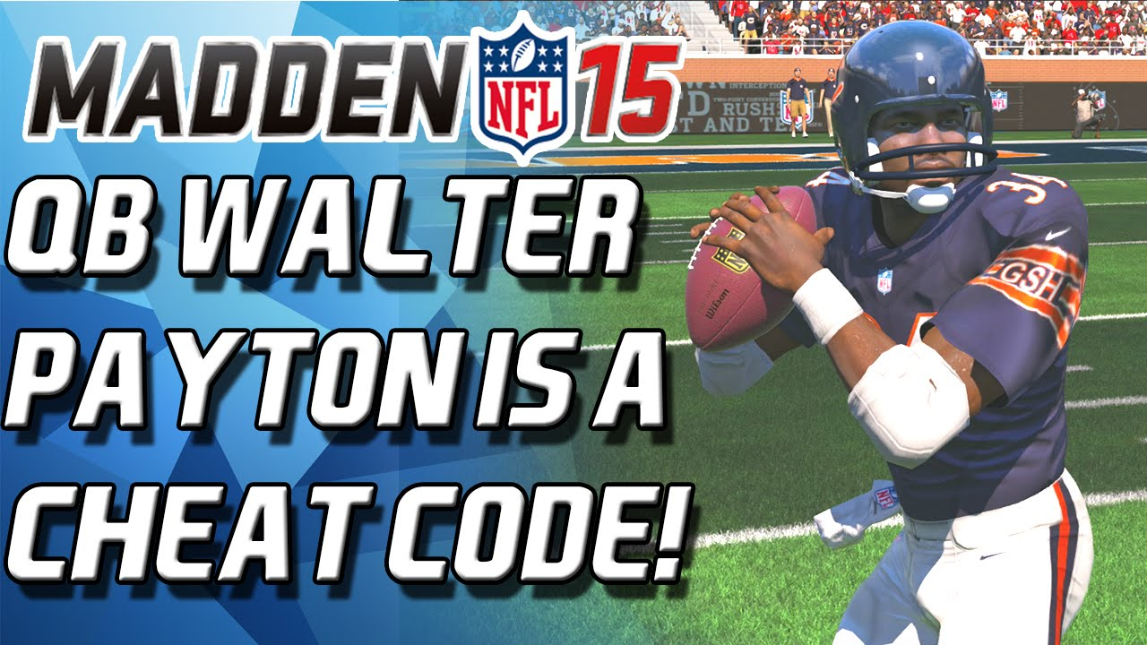 Qb walter payton is a cheatcode madden 15 ultimate team youtube - Walter payton madden 15 ...