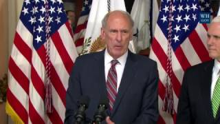 Trump's New Director of National Intelligence Sworn In - Full Ceremony