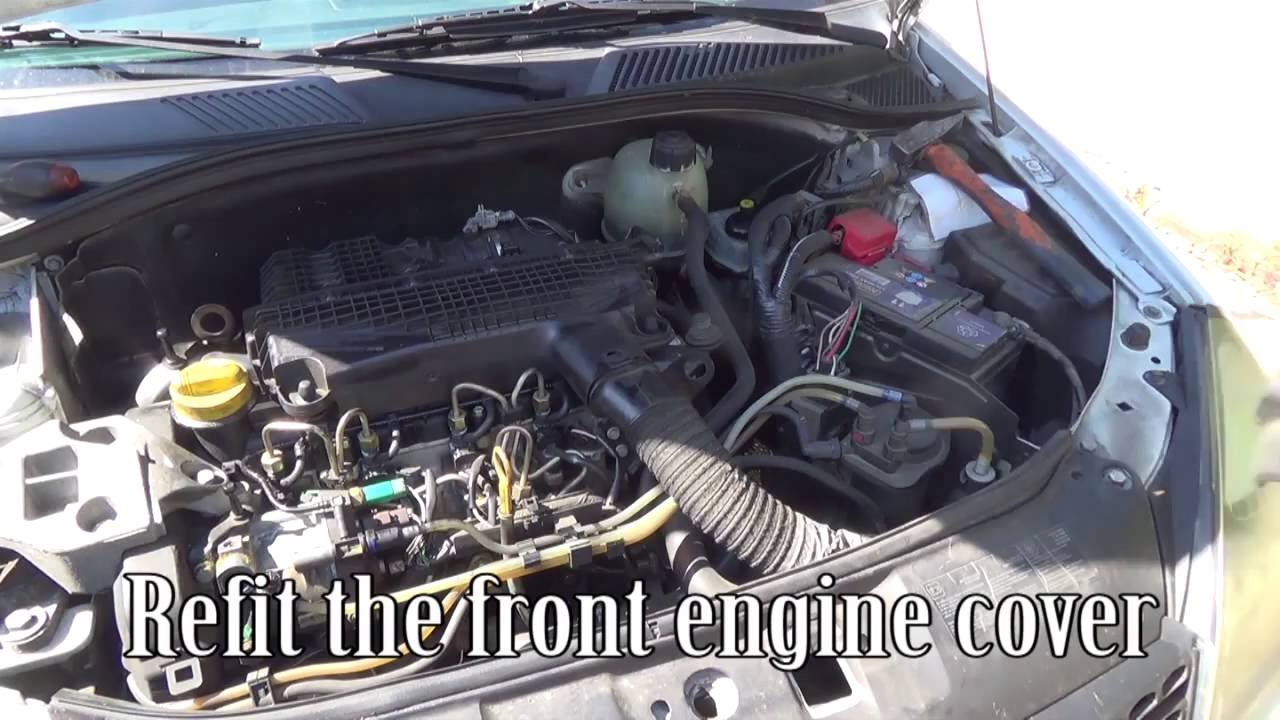 Egr Solenoid Valve Cleaning With An Oven Cleaner Youtube Renault Master Van Wiring Diagram