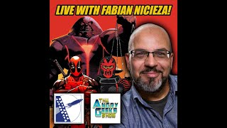 LIVE interview with comic book writer & editor Fabian Nicieza.