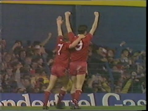 Everton 0 Liverpool 1 21/01/1987 League Cup