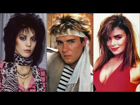 Pop Stars Of The '80s Then And Now (part 2)