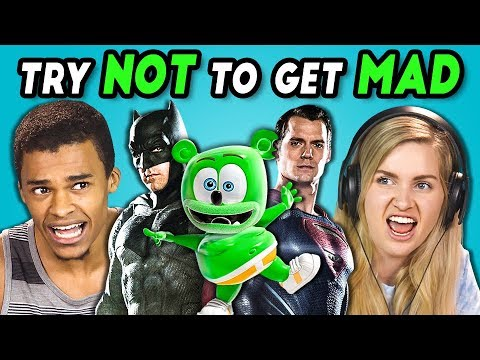TEENS REACT TO TRY NOT TO GET MAD CHALLENGE