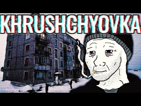 Khrushchyovka  - UGLIEST Old Soviet Apartment Building?