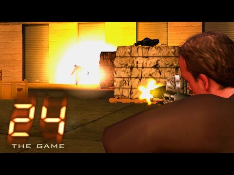 24: The Game (PS2) - Mission #21 - Escape From Madsen's Base