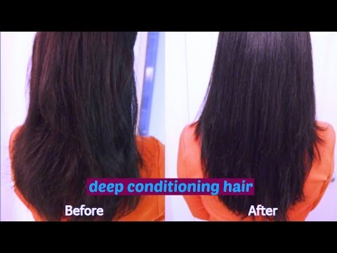 How To Get Deep Conditioning  Hair/Home Remedy/Beautynature