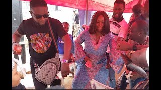 Jigan, Baba Tee Dancing On The Street At Actor, Itele's Daughter's Naming Ceremony Would Make ur Day