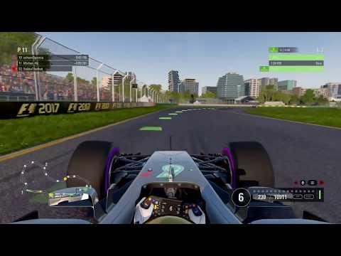 AOR F1 2017 PS4 - Round 1 - Australian Grand Prix