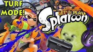 Gaming Grape Plays - SPLATOON: Turf Mode!