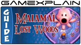 Zelda: A Link Between Worlds - Lost Woods Maiamai Locations (3DS)