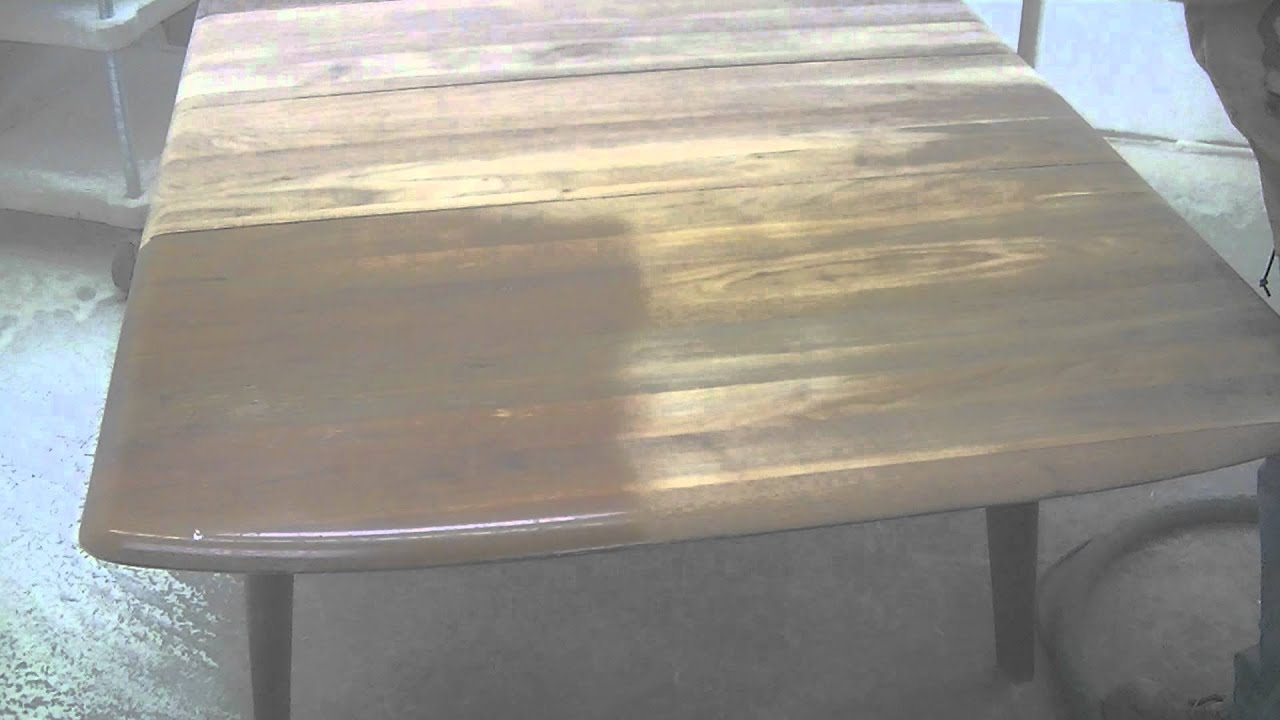 Soda Blasting Wood Furniture