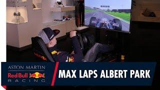 Max Verstappen drives a lap of Albert Park on F1 2017