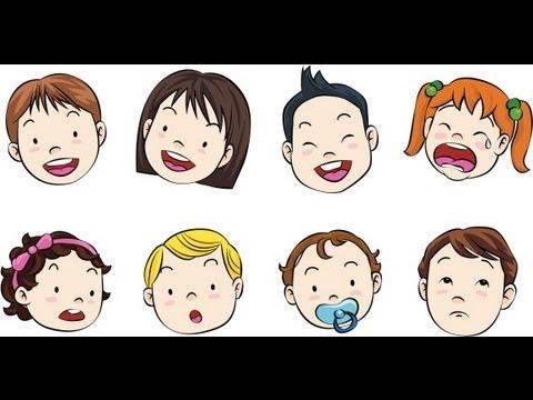 La cara. Vocabulario del cuerpo para niños - YouTube