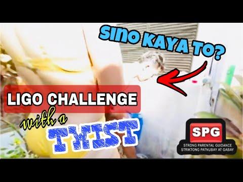 LIGO CHALLENGE ACCEPTED | Ayen Kim Naligo Na May Kasamang Hunk Guy | Sino Kaya Siya? | Alamin | 🤣