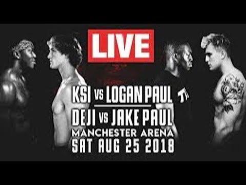KSI VS. LOGAN PAUL LIVE STREAM