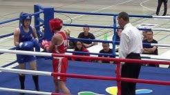 Boxen: Satu Lehtonen - Zsofia Pap (Int. Frauenboxturnier #32)