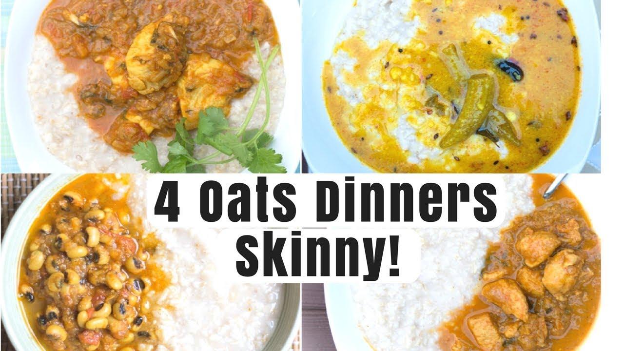 Oats 4 ways weight loss dinner recipe oats oats recipes indian oats oatsrecipes oatmealindian forumfinder Images