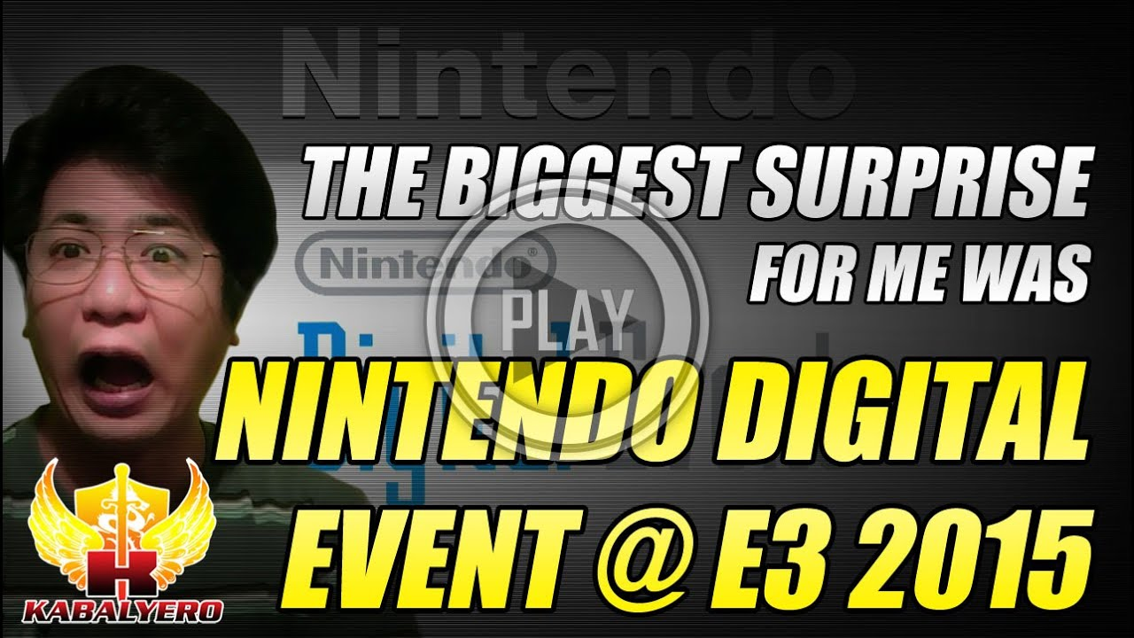 Nintendo Digital Event @ E3 2015 ★ The Biggest Surprise For Me Was (Reaction)