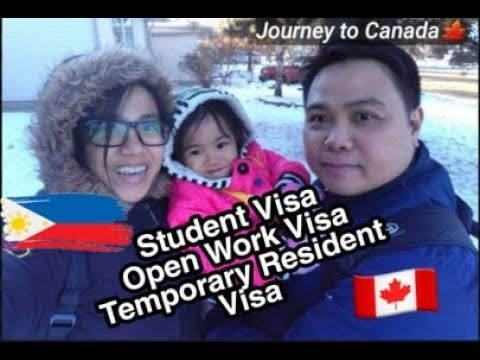 Step By Step Process For Student Visa, Open Work Visa, Temporary Resident Visa (DIY) | Requirements