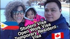 Step by Step process for Student Visa, Open Work Visa, Temporary Resident Visa (DIY)