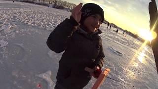 Зимняя рыбалка! Озеро Бент! 3 декабря.