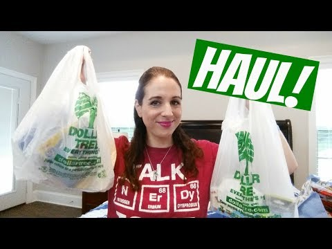 DOLLAR TREE HAUL!! 6-22-17 NEW/WISH LIST ITEMS!