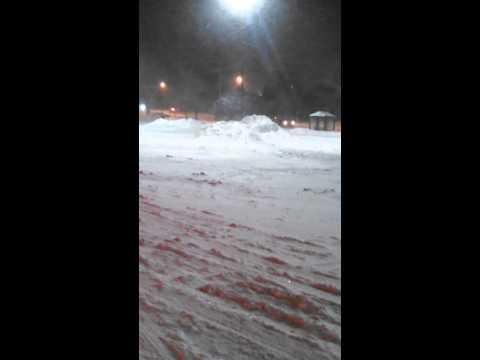 Cleveland Ohio snow storm Jan. 2014
