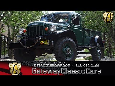 1946 Dodge Power Wagon Stock # 934-DET