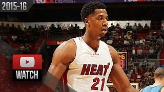 Hassan Whiteside Triple-Double Highlights vs Timberwolves (2015.11.17) - 22 Pts, 14 Reb, 10 Blk