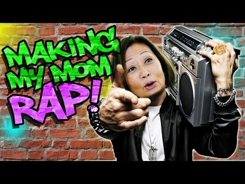 Thumbnail: Making my Mom Rap like Eminem!