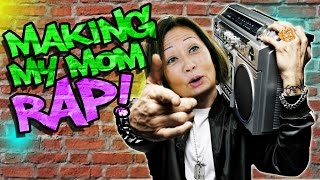 Download Making my Mom Rap like Eminem! Mp3 and Videos
