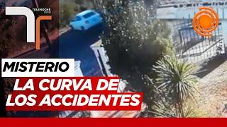 Colinas del Cerro: misterio en una esquina a donde se accidentan y derrapan autos