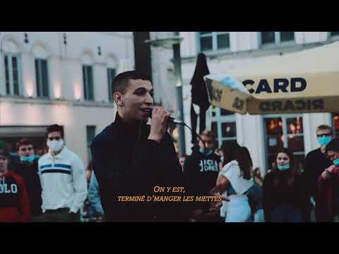 Youtube: Youssef Swatt's – Concert sauvage sur la Place Saint-Pierre (Tournai)