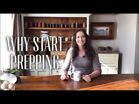A Homestead Chat - Basic Prepping has Helped my Life