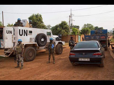Central African Republic leader leaves UN early due to violence in Bangui