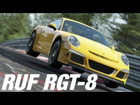 Project CARS : RUF RGT-8 - Nurburgring