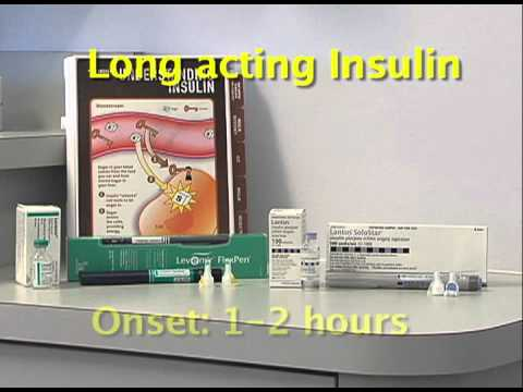 insulin-types-and-activity
