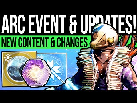 Destiny 2 | ARC WEEK EVENT & LOOT UPDATE! Exotic Quest, New Gear, Vendors & Eververse! (9th April) thumbnail