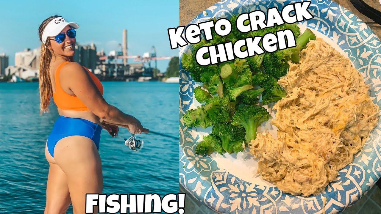 Keto Crock Pot Crack Chicken   Bikini Try On   Full CrossFit
