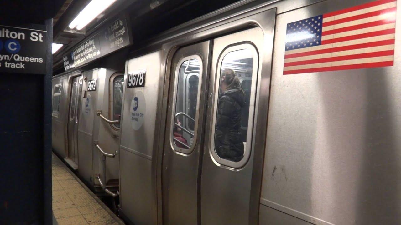 NYCTA Subway : Coney Island - bound R160A-2 (F) Train via ...