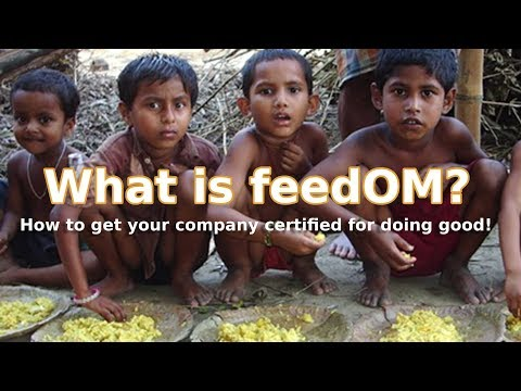 What is feedOM? A sponsorship opportunity for CSR companies
