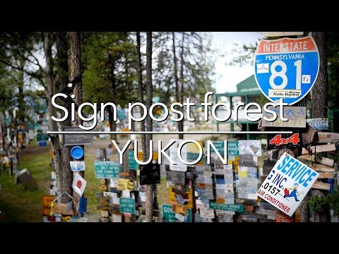 QttW - 1 minute snippet - Sign Post Forest (Yukon)
