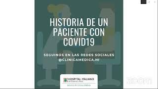 Historia de un paciente con COVID 19
