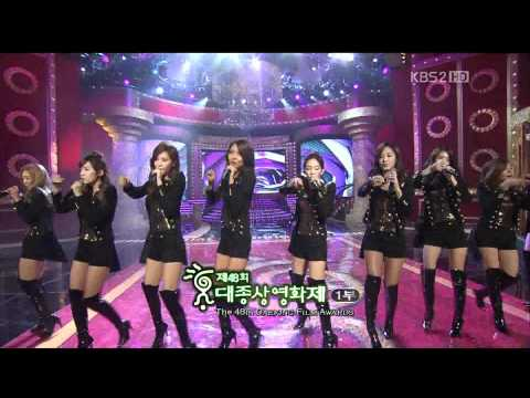 1080p SNSD 111017 Hoot @ 2011韓國電影大鐘獎