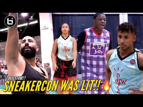 FouseyTube, Julian Newman, Filayyy & Jaden Newman Show Out At Sneakercon In Anaheim!!
