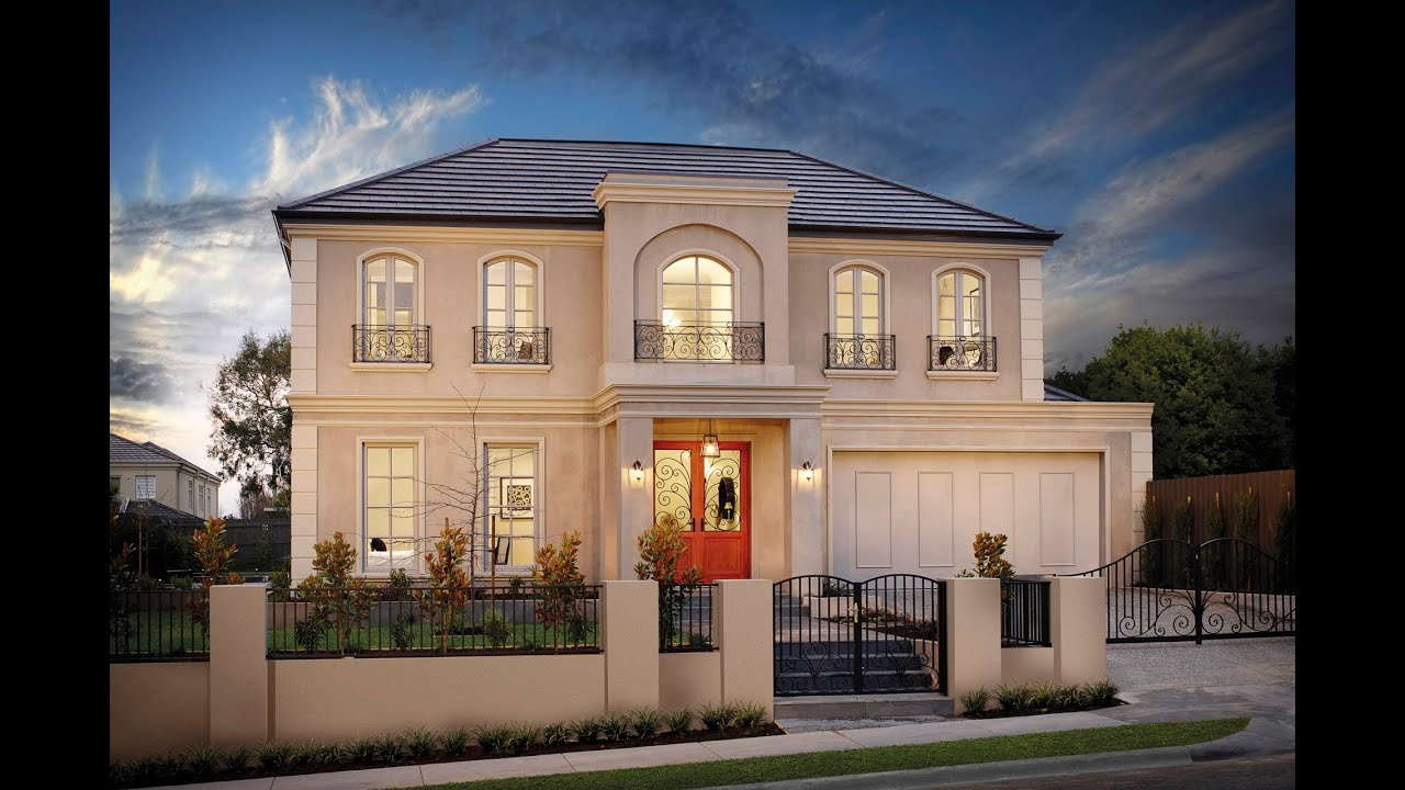 Latitude 37   Best Houses Australia  Modern French Provincial Custom Home,  Balwyn North VIC   YouTube