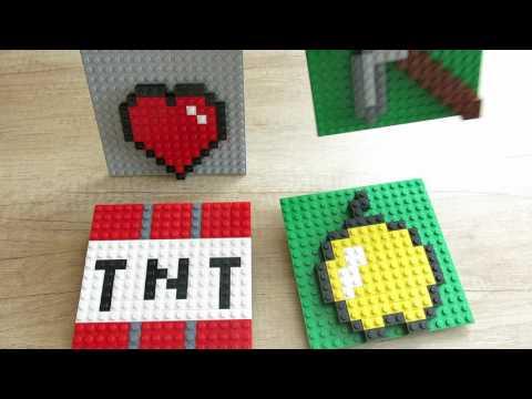 Minecraft, картинки из Лего.