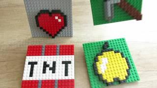 - Minecraft, картинки из Лего.