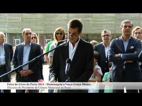 Discurso do presidente da CMP na homenagem a Vasco Graça Moura
